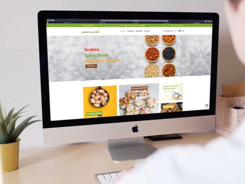 Çerezim Tavşanlıdan E-Ticaret Sitesi